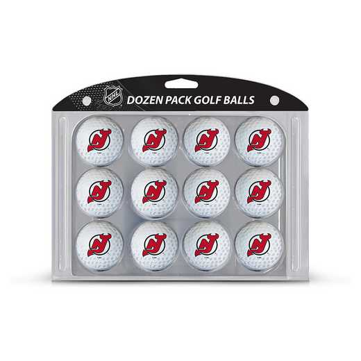 14603: Golf Balls, 12 Pack New Jersey Devils
